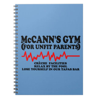 Funny McCann Notebook