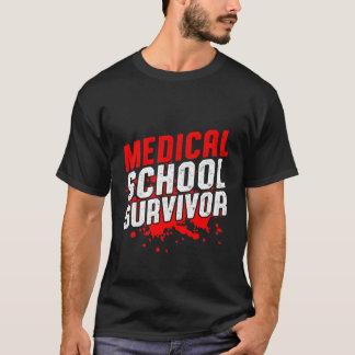 Funny Medical School Survivor T-shirt for Doctors