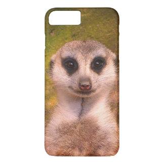 Funny Meerkat 002.04_rd iPhone 8 Plus/7 Plus Case