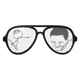 funny meme party aviators aviator sunglasses