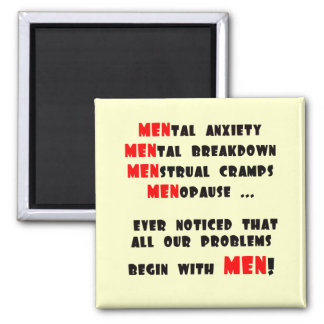 Funny Men T-shirts Gifts Magnet