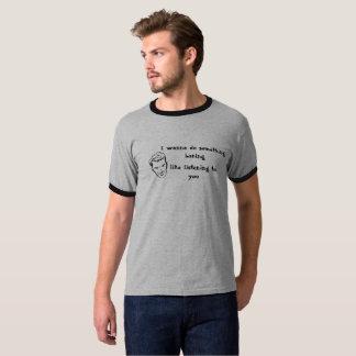 Funny Men's Ringer T-Shirt