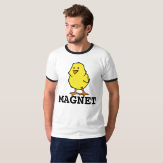 Funny Men's T-shirts CHICK MAGNET