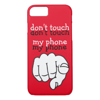 Funny Message Design iPhone 7 Case
