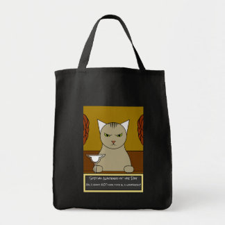 Funny Mexican Cat Tote Bag