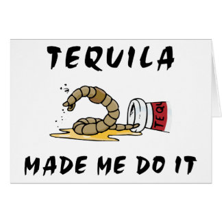Funny Mexican Tequila Cards