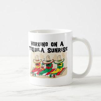 Funny Mexican Tequila Sunrise Coffee Mug Coffee Mug