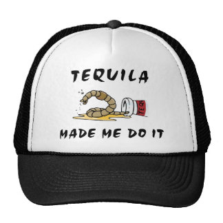 Funny Mexican Tequila Trucker Hats