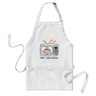 Funny Microwave Home Cooking Standard Apron