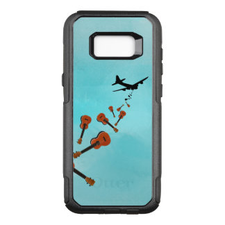 Funny Military Bomber Ukulele Bombs OtterBox Commuter Samsung Galaxy S8+ Case