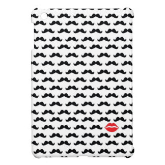Funny mini mustache with lips cover for the iPad mini