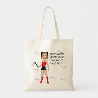 Funny Mistress, Tote Bag - Add Photo & Text