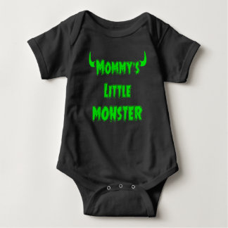 Funny Mommy's Little Monster - Gothic Baby Clothes Baby Bodysuit