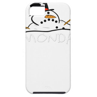Funny MONDAYS MELTING SNOWMAN iPhone 5 Covers