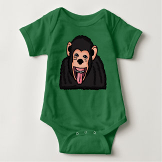 Funny Monkey Clothes Baby Bodysuit