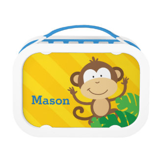 Funny Monkey in the Jungle Lunchbox