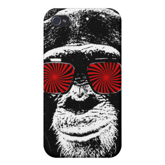 Funny monkey iPhone 4/4S cover
