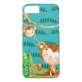 Funny Monkey Jungle Fun iPhone 7 Case