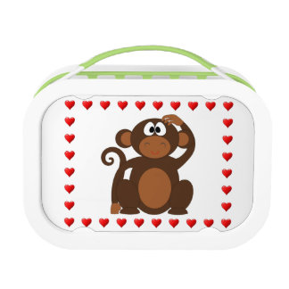 Funny Monkey Lunch Box