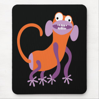 Funny Monkey Mouse Pad