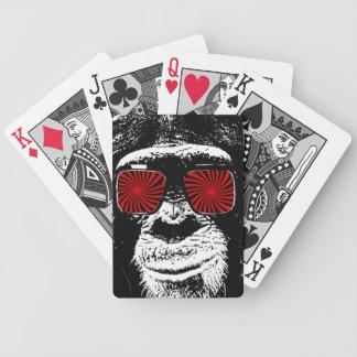 Funny monkey poker deck
