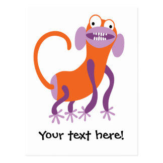 Funny Monkey Postcard