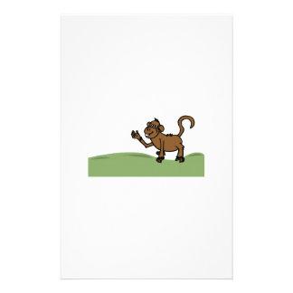 Funny Monkey Stationery Paper