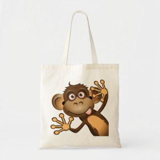 Funny Monkey Tote Bag