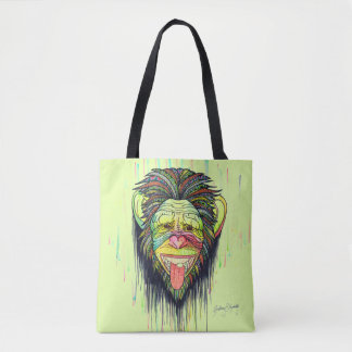 Funny Monkey Tote Bag