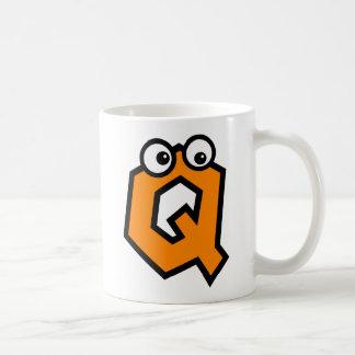 Funny Monogram Letter Q Coffee Mug