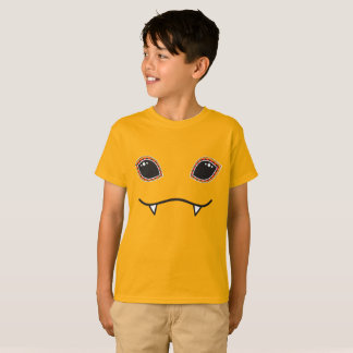Funny Monster Face Halloween Costume T-Shirt