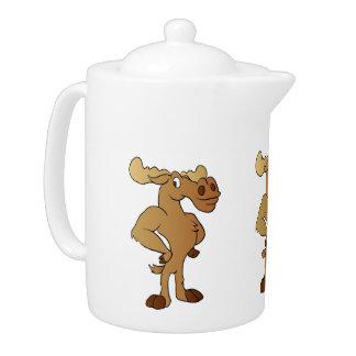 Funny moose