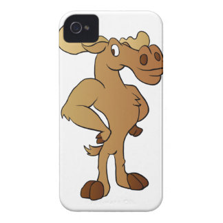 Funny moose iPhone 4 Case-Mate cases