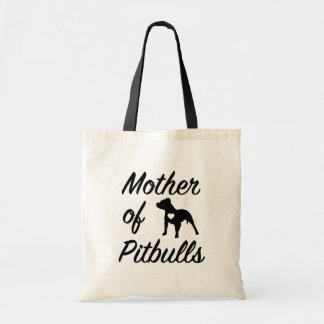 Funny Mother of Pitbulls womens Pit Bull bag