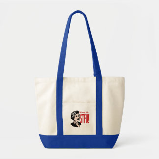 Funny Mother s Day Design Canvas Bag