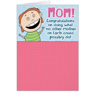 Funny Mother's Day Card