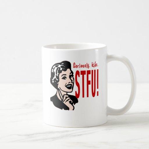 Funny Mother's Day Design Basic White Mug
