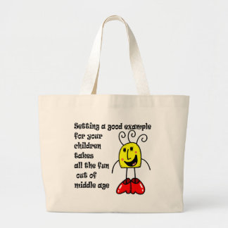 Funny Mother's Day Jumbo Tote Bag