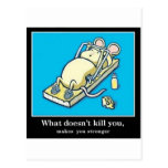 Funny Mouse Product Postcard