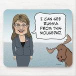 Funny mousepad: Sarah Palin