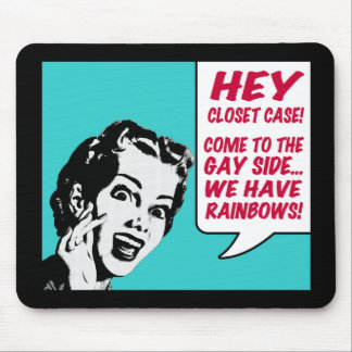 Funny Mousepad - We Have Rainbows
