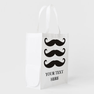 Funny Moustache / Schnurrbart + your text