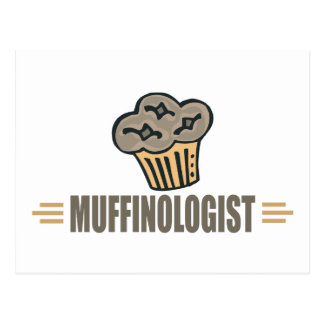 Funny Muffin Postcard