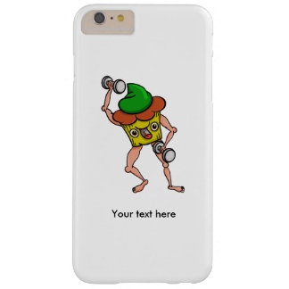 Funny Muffin Pumping Iron Barely There iPhone 6 Plus Case