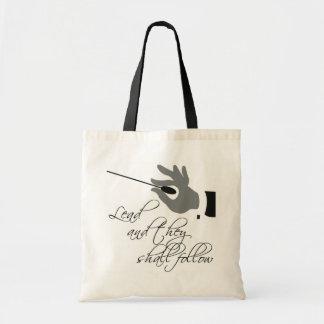 Funny Music Teacher Gift Budget Tote Bag