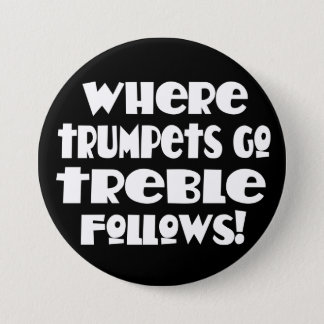 Funny Music Trumpet Button