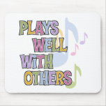 Funny Musician Gift Mouse Mat