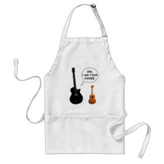 funny musician standard apron