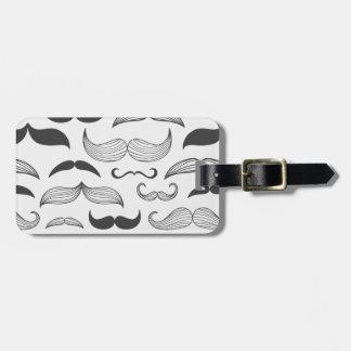 Funny Mustache Fantachetic Luggage Tag