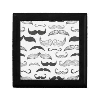 Funny Mustache Fantachetic Small Square Gift Box